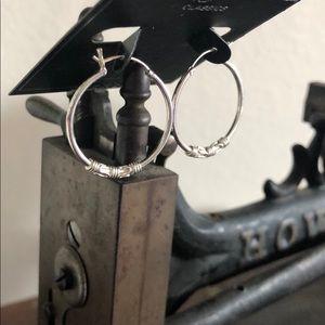 NWT: Sterling Silver Earrings